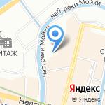 Контракт Рисовальщика на карте Санкт-Петербурга