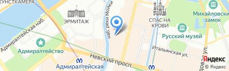 Рош-Москва на карте Санкт-Петербурга