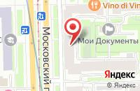 Схема проезда до компании Противопожарное Сотрудничество в Санкт-Петербурге