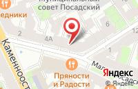 Схема проезда до компании Модерн в Санкт-Петербурге