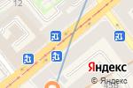 Схема проезда до компании Мон амур в Санкт-Петербурге