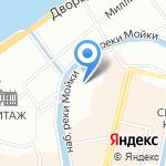 Рувенир на карте Санкт-Петербурга