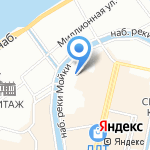 Ноландт и Штейнлухт на карте Санкт-Петербурга