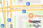 Схема проезда до компании ЗдравиО в Санкт-Петербурге