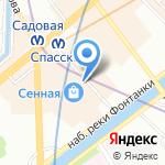 Сезар-Сервис на карте Санкт-Петербурга
