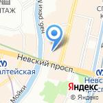 ПОЛИКОР на карте Санкт-Петербурга