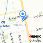 Леди Ди на карте Санкт-Петербурга