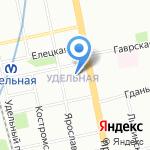 СПЛАЙН на карте Санкт-Петербурга