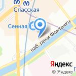 Аква Плюс на карте Санкт-Петербурга