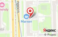 Схема проезда до компании Тест в Санкт-Петербурге