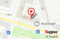 Схема проезда до компании Мапрекс в Санкт-Петербурге