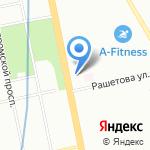 Мечта на карте Санкт-Петербурга