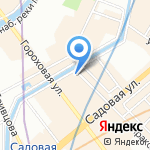 Dolce Vita на карте Санкт-Петербурга