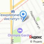 Наша кухня на карте Санкт-Петербурга