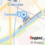 Карельский Бриз на карте Санкт-Петербурга