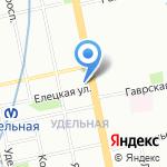 Опт-Маркет на карте Санкт-Петербурга