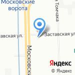 КРЕЧЕТ на карте Санкт-Петербурга