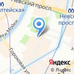 Акуна Матата на карте Санкт-Петербурга