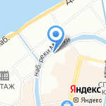 Пикколо на карте Санкт-Петербурга