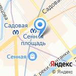 Стоп-Кадр на карте Санкт-Петербурга