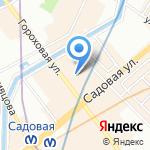 Букля на карте Санкт-Петербурга