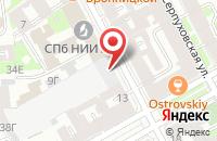 Схема проезда до компании Прима-А в Подольске