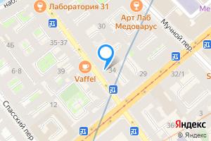 Комната в трехкомнатной квартире в Санкт-Петербурге Гороховая ул., 34