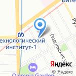 Миг Travel на карте Санкт-Петербурга