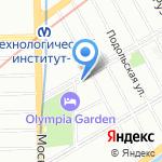 Гитарный лекарь на карте Санкт-Петербурга