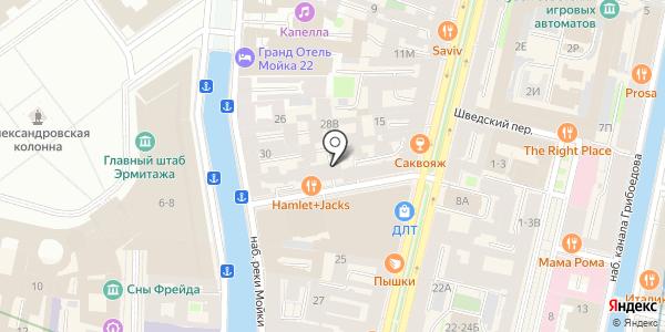 CONCEPT. Схема проезда в Санкт-Петербурге