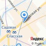 Covani на карте Санкт-Петербурга