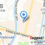 Escape Quest на карте Санкт-Петербурга