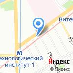 OIKOS на карте Санкт-Петербурга