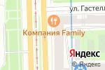Схема проезда до компании KOMANDOR в Санкт-Петербурге
