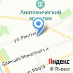 Леге Артис на карте Санкт-Петербурга