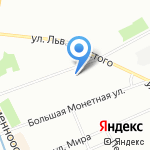 Спорт день за днем на карте Санкт-Петербурга