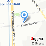 Служба заказа грузчиков на карте Санкт-Петербурга