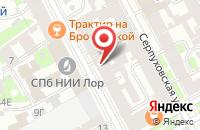 Схема проезда до компании Аврора в Подольске