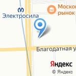 Citystyle на карте Санкт-Петербурга