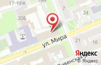 Схема проезда до компании Сад радости в Заволжском