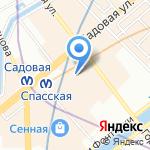 Кабинет психологической помощи на карте Санкт-Петербурга