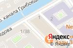 Схема проезда до компании Магазин путешествий.ру в Санкт-Петербурге