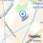 Pride на карте Санкт-Петербурга
