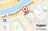 Схема проезда до компании Кругозор в Санкт-Петербурге