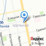 Мари-Шарм на карте Санкт-Петербурга