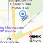 Промтел на карте Санкт-Петербурга