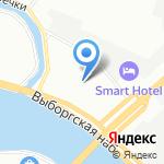 Вилс Маркет на карте Санкт-Петербурга
