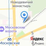Единый центр вторичных ресурсов на карте Санкт-Петербурга