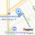 Для дома и семьи на карте Санкт-Петербурга