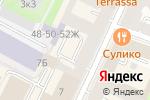 Схема проезда до компании Nikodan в Санкт-Петербурге